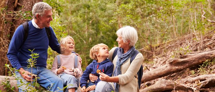 how grandkids help dementia