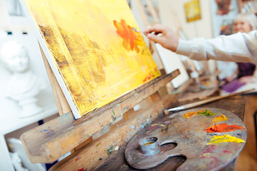 art therapy for seniors with dementia